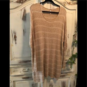 Free people around neck sweater